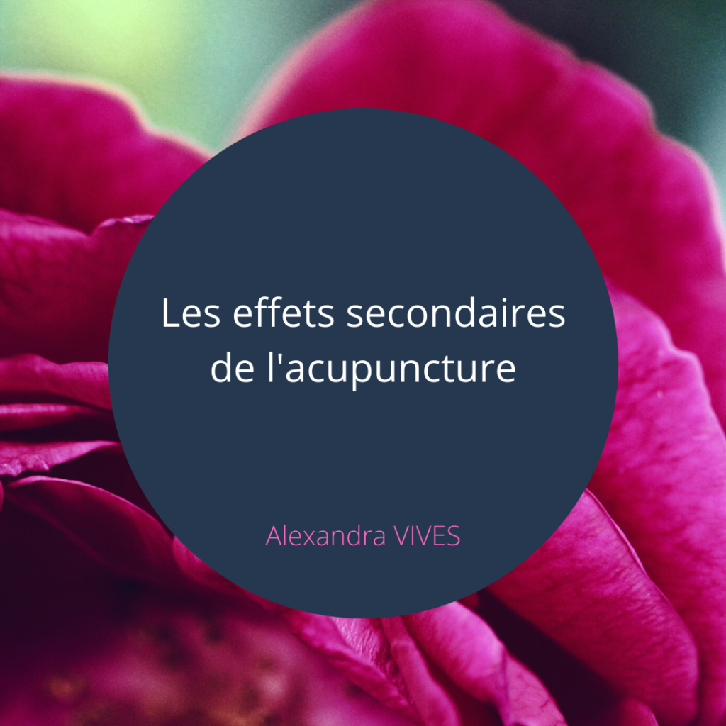 acupuncture efficace sans danger sans effet secondaire