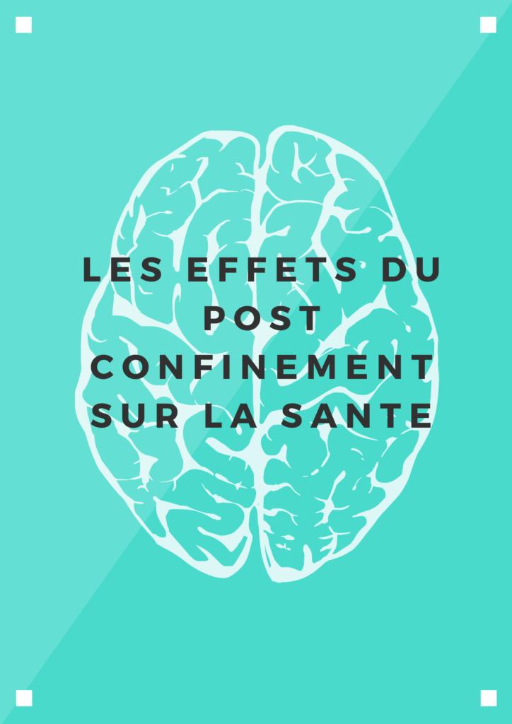 effet du déconfinement sur la santé et la psychologie : anxiété, peur, insomnie, colère en France